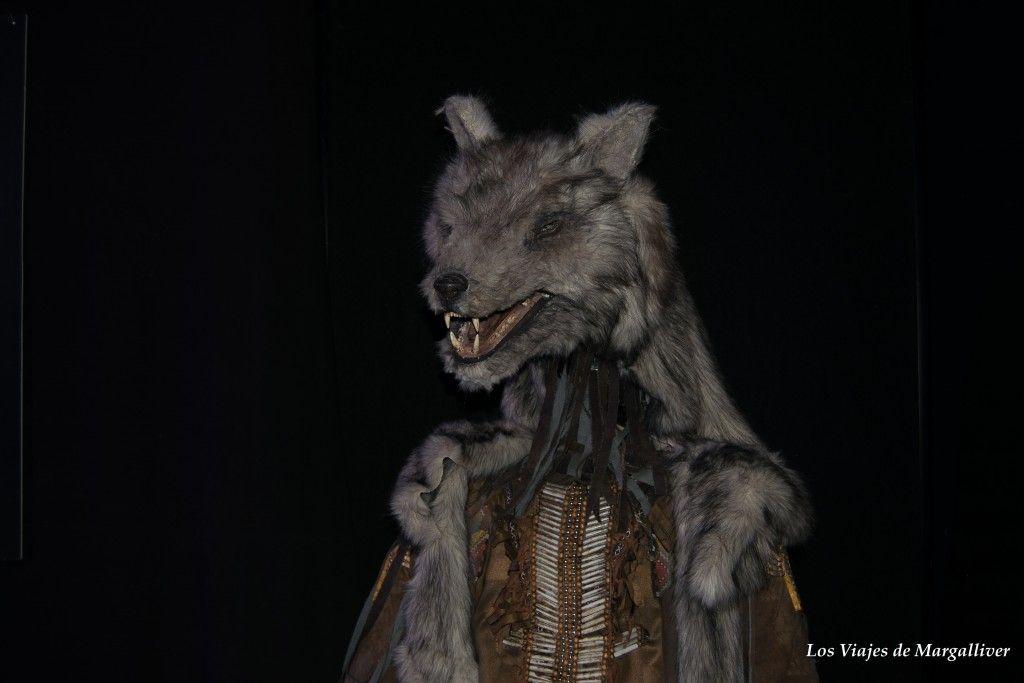 Exposición Cuarto Milenio, Chamán lobo - Los viajes de Margalliver